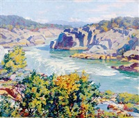 downstream from great falls by garnet w. jex