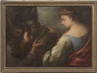 samaritana al pozzo by carlo francesco nuvolone