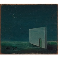 doorway by gertrude abercrombie