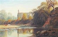 bolton abbey from the north by james l. adams