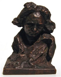 bust of beethoven by naum aronson