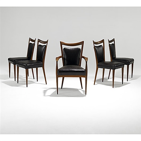 dining chairs set of 5 by fabry