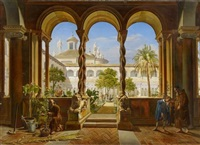 san giovanni in laterano by hans ditlev christian martens