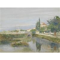 venezia, rio della calsina by attilio fonda