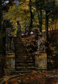 parktreppe by karl langhammer