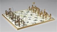 schackspel med 32 pjäser by bo åke adamsson