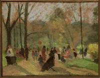 promenade au parc by dino rossi