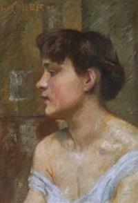 Bildnis einer jungen Frau, 1905