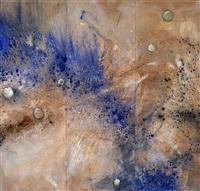encuentro 120 (triptych) by cristobal a. gabarron