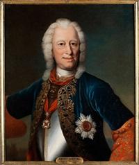 bildnis des landgrafen ernst ludwig von hessen-darmstadt, 1667 - 1735 by johann christian fiedler