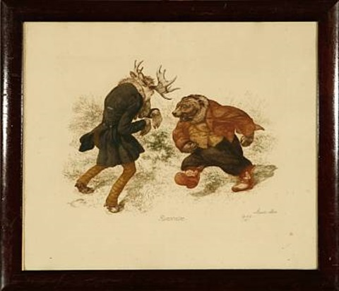 rencontre troll cub and bear 2 works by louis maria niels peder halling moe