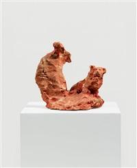 untitled (hieronymus und der löwe) by siegfried anzinger