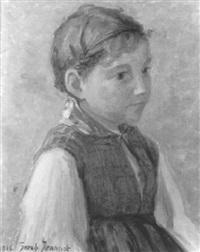 porträt eines mädchens by sarah jeannot