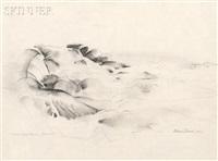 mountain stream, yosemite by william zorach