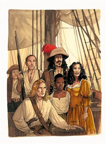 pirates by jacques terpant