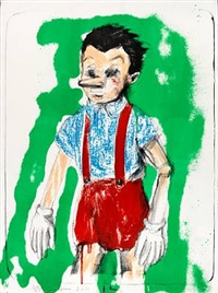 pinocchio by jim dine