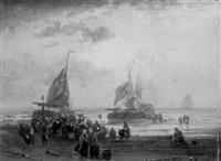 fischer und händler bei den booten by felix kreutzer