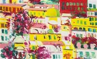 balcone fiorito by athos faccincani
