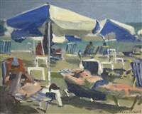 afternoon, beach by ken howard