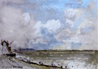 aldeburgh beach, suffolk by edward holroyd pearce