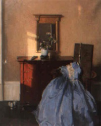 the blue gown by james bell anderson