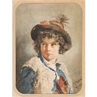 porträt eines hirtenknaben by giacomo campi