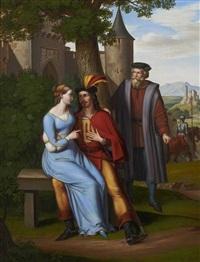 eine mittelalterliche sage (2 works) by joseph anton rhomberg
