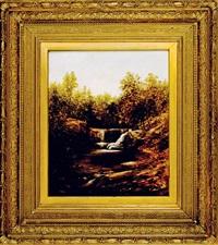 waterfall, georgia by thomas addison richards