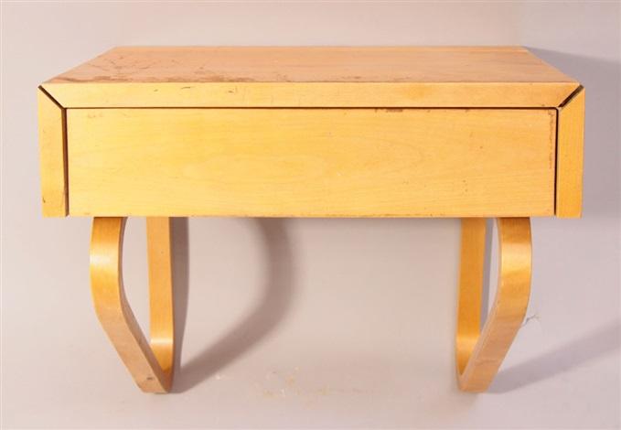 Wandkonsole Mit Schublade By Alvar Aalto On Artnet