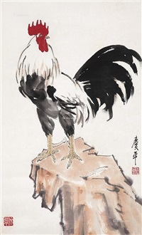 大吉图 (cock) by xu qingping