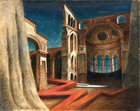 le temple foudroyé by alberto savinio