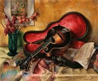 musical still life by frank c. kirk