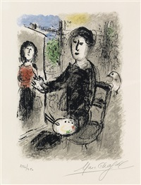 les ateliers de chagall (portfolio w/text) by marc chagall