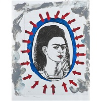 five works on from the series: frida kahlo by magali lara