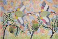 oiseaux by mulongoy pili pili