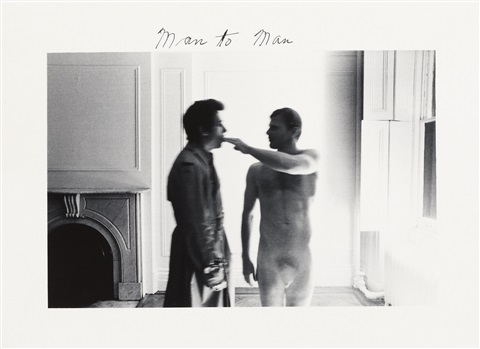 man to man in 8 parts by duane michals