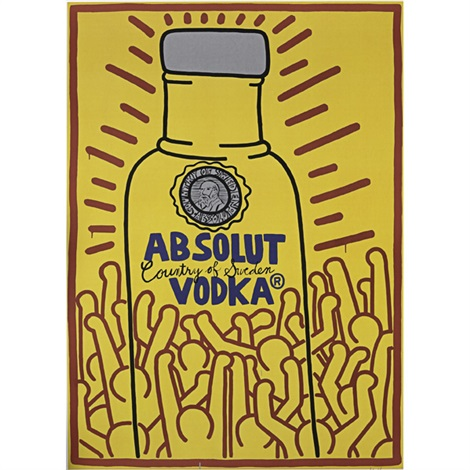 absolut haring by keith haring