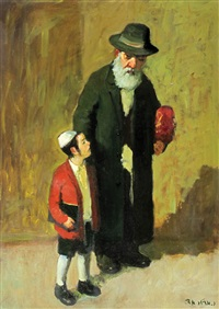father and his son by ed adler