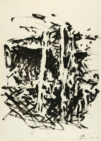 bäume by georg baselitz