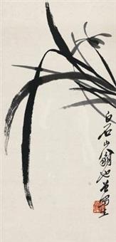 兰草 by qi baishi