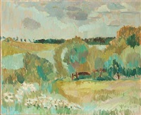 landscape by viggo rorup