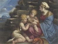 madonna della tazza by agostino carracci
