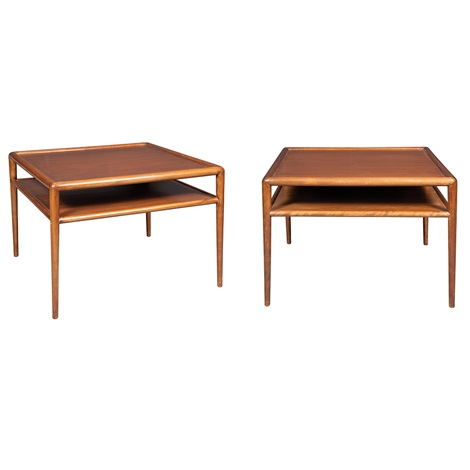 side tables pair by th robsjohn gibbings