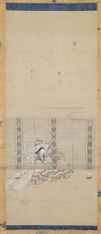 elegante dame mit einer spinne by anonymous-japanese (18)