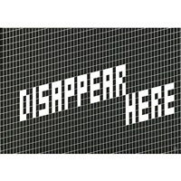 disappear here by martin boyce