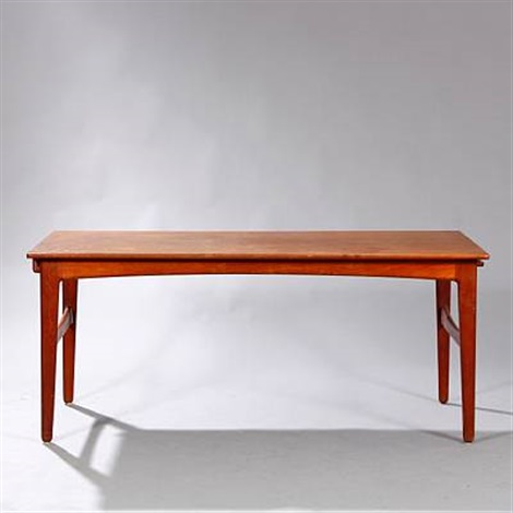 Merveilleux Rectangular Dining Table With Extension And Two Extra Leaves Placed  Underneath By Harbo Sølvsten