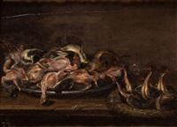 pájaros en un plato by alexander adriaenssen the elder