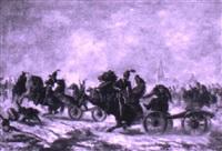 artillerie im gefecht by adolphe gandon