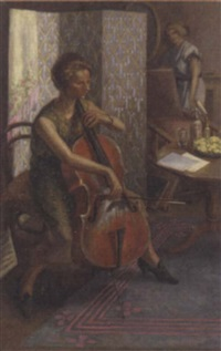 the cellist by hubert hennes