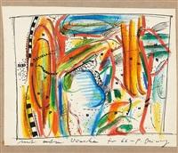 ohne titel (neujahrswünsche für 1966) by peter brüning